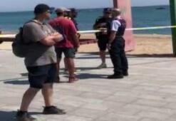 Barcelona'da denizde patlayıcı bulundu