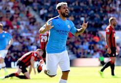 Manchester City 3 puanı 3 golle aldı Agüero 400 oldu...