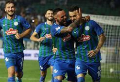 Çaykur Rizespor - Demir Grup Sivasspor: 2-1
