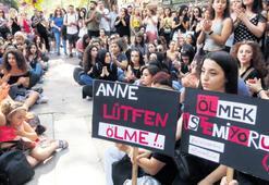 Kadına şiddete tüm yurtta tepki yağdı