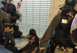 Hong Kongdaki protestolarda yeni gözaltılar
