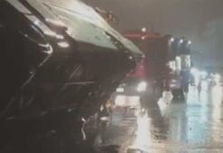 Çin'de yolcu otobüsü devrildi: 7 ölü, 11 yaralı