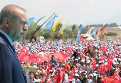 Cumhurbaşkanı Erdoğandan Malazgirt zaferinin 948. yılında çok net mesaj