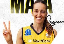 Maja Ognjenovic, VakıfBanka transfer oldu