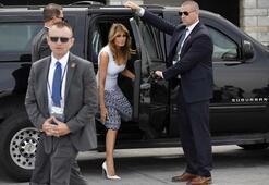Melania Trumpın G7 stili gündem yarattı