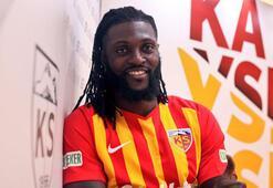 Emmanuel Adebayor, Kayserispora imzayı attı