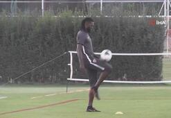 Adebayor, Kayserisporda ilk antrenmanına çıktı