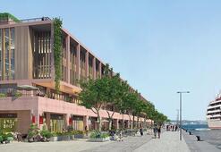 Galataport'a ilk gemi Nisan 2020'de yanaşacak