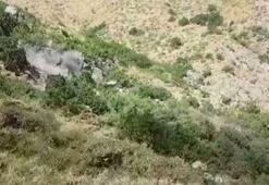 Şemdinlide 8 teröristin etkisiz hale getirildiği operasyon kamerada