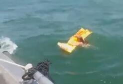 Deniz yatağı hayatını kurtardı
