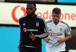 Beşiktaşta Nkoudou, idmanı yarıda bıraktı