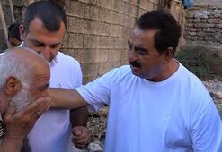 Doğduğu mağarayı ziyaret eden İbrahim Tatlıses gözyaşlarını tutamadı