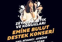Emine Bulut'un  kızı için Konser