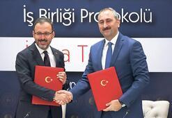 Hükümlü ve tutuklular için protokol imzalandı