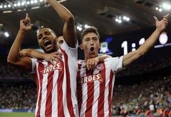 Valbuena döktürüyor Olympiakos, Şampiyonlar Liginde...