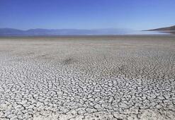 Dev tuz göl kurudu
