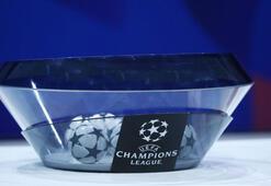 UEFA Şampiyonlar Liginde gruplar belli oluyor