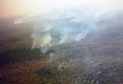 Bolivyada iki günde 38 bin orman yangını çıktı
