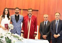 Sivassporlu Muammer, Dila Aşkın ile hayatını birleştirdi
