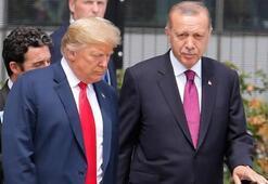Cumhurbaşkanı Erdoğan, Donald Trumpla görüştü