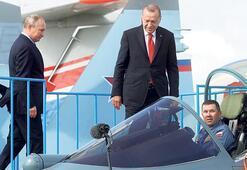 Erdoğan'dan 'Su-57  alternatif mi' sorusuna yanıt: Niye olmasın Boşuna gelmedik