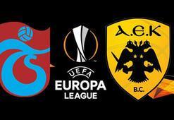 Trabzonspor- AEK play-off rövanş maçı bu akşam saat kaçta hangi kanalda