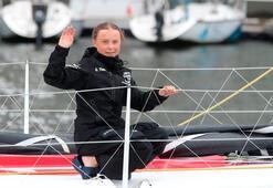 Yelkenliyle Atlas Okyanusunu geçen Thunberg: Artık doğayla kavga etmeyi bırakmalıyız