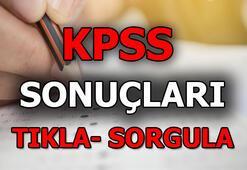 KPSS sınav sonuçlarını SORGULAMA EKRANI 2019-KPSS A Grubu ve Öğretmenlik Sınavı Sonuçları