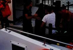 Çeşme açıklarında 38 kaçak göçmen yakalandı