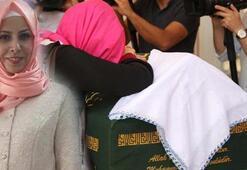 6 yaşındaki kızının gözü önünde vurulan Tuğbaya veda