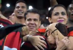 Flamengo 35 yıl sonra yarı finale yükseldi kadın taraftar ağladı