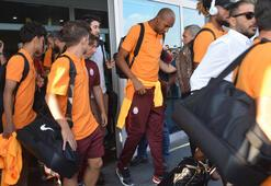 Galatasaray kafilesi Kayseride Falcao detayı...