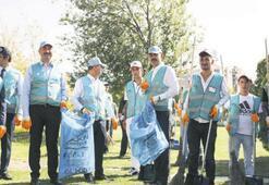 Yedi bin yükümlü çevreyi temizledi