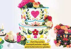 İlmek ilmek işlenen pastalar