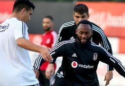 Beşiktaşın yeni transferi NKoudoudan antrenmanda klas hareketler...