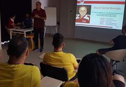 Malatyasporda futbolculara değişen kurallar anlatıldı