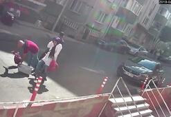 Korkunç Sevgililere sokak ortasında silahlı saldırı