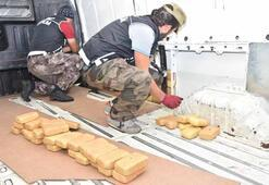 Erzurumda ele geçirildi 119 paket Değeri 1 milyon TL