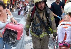 İstanbulda yangın paniği