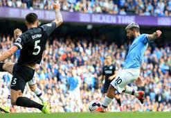 Manchester City, Brightonı gole boğdu