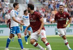 Milana galibiyeti Hakan Çalhanoğlu getirdi