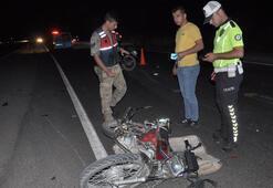 Gaziantepte motosikletler çarpıştı: 1 ölü, 4 yaralı