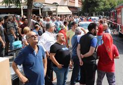 İstanbulda hareketli dakikalar Tüm binayı sardı