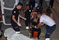 Şikayet ettiği hastaneye sancılanınca karakoldan ambulansla götürüldü