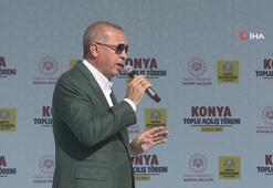 Cumhurbaşkanı Erdoğandan Konyada müjdeleri sıraladı