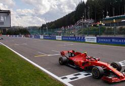 Belçikada kazanan Leclerc