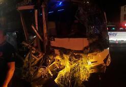 Antalyada feci kaza: Çok sayıda yaralı var