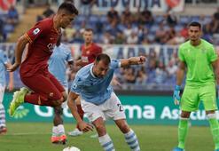 Roma derbisinde 2 gol sesi Cengiz Ünder...