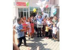 Bayraklılı çocuklar barış gününü kutladı