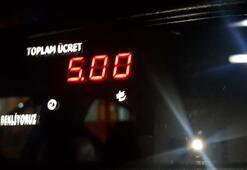 Taksi ücretleri zammı yürürlüğe girdi